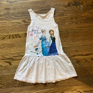 H&M frozen Disney tank dress